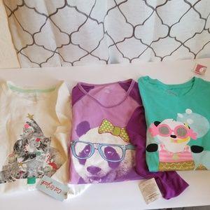 Girl top bundle size 7/8